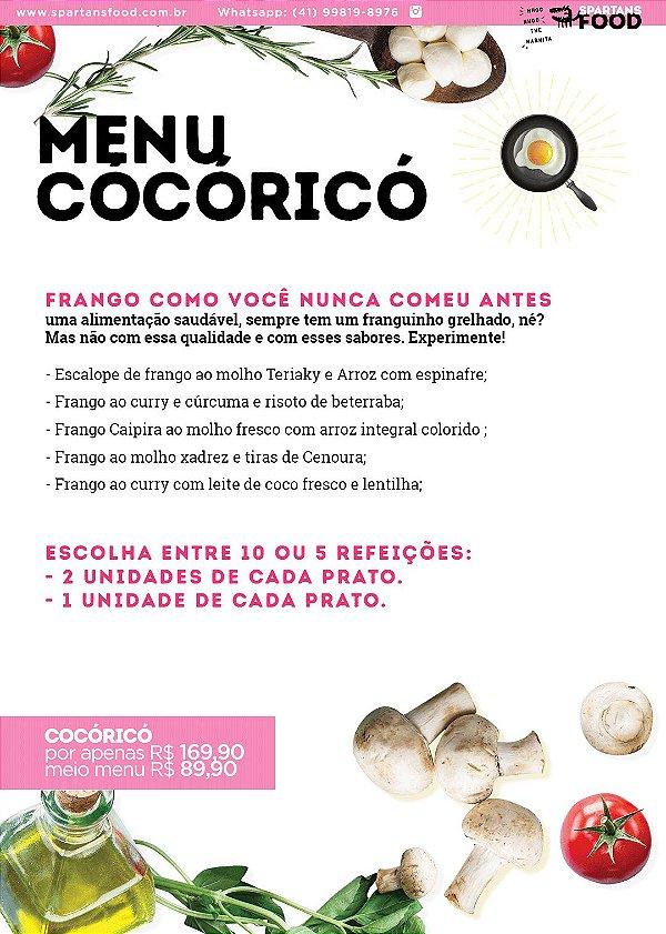 Menu Cocoricó