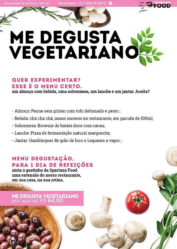 Me degusta- Vegetariano