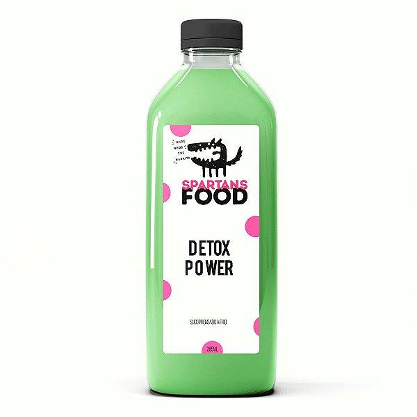 DETOX POWER - suco de Couve, Abacaxi e Gengibre