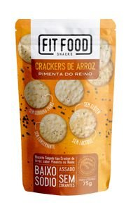 Cracker de Arroz Pimenta do Reino (75g)
