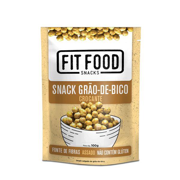 Snack Grão-de-Bico Crocante
