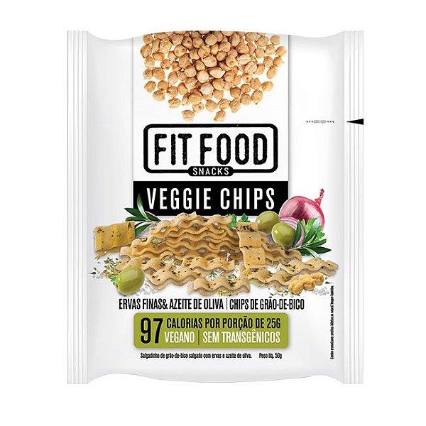 Veggie Chips Ervas finas e azeite de oliva