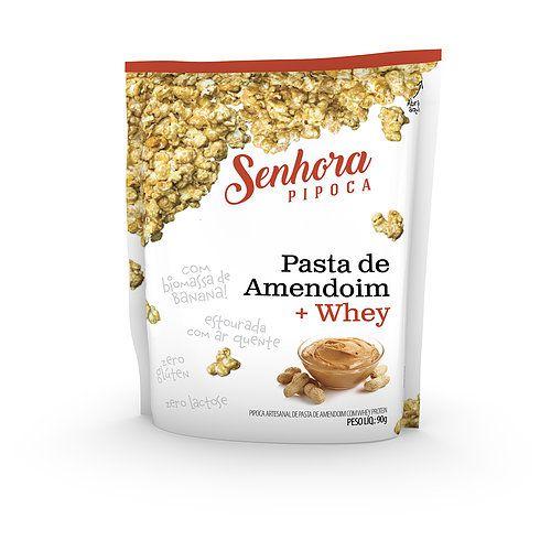 Senhora Pipoca - Pasta de Amendoim + Whey