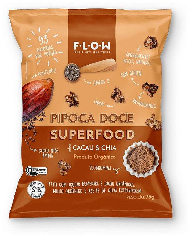 PIPOCA ORGÂNICA E SUPERFOOD