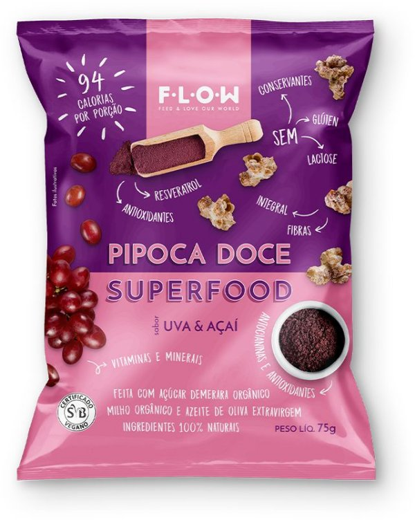 PIPOCA PIMENTA DO REINO & CÚRCUMA  SUPERFOOD