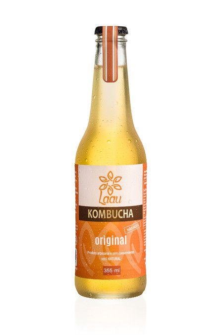 Laau Kombucha - sabor original - 355 ml