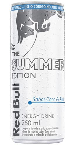 Red Bull Summer Edition - coco e açaí