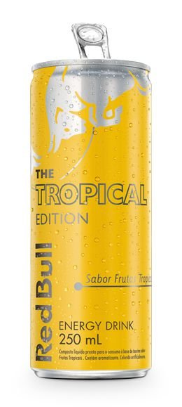 Red Bull Summer Edition - frutas tropicais