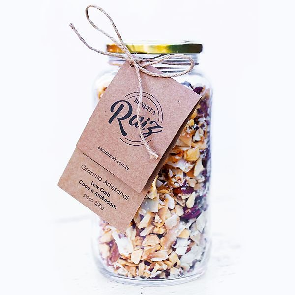 GRANOLA LOW CARB - bendita raiz