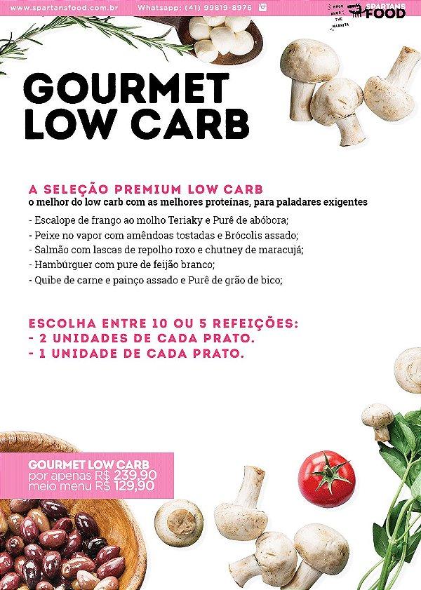 Meio Menu Gourmet Low Carb