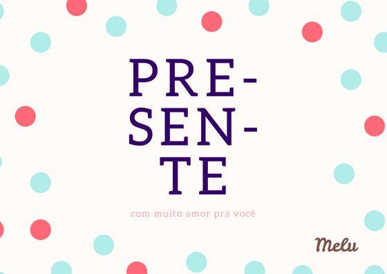 Vale presente (cartão virtual)
