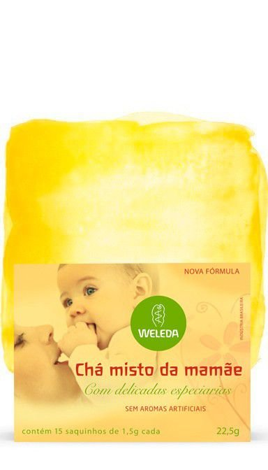 Chá misto da Mamãe com delicadas especiarias 22,5g - Weleda