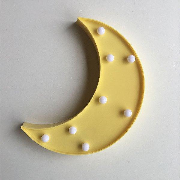 Luminária com LED Lua