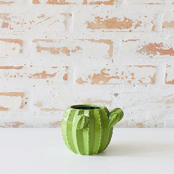 Vaso de Cerâmica Tipo Cactos