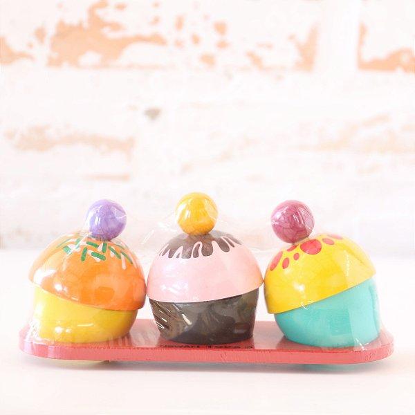 Coleção Comidinhas - Cupcakes