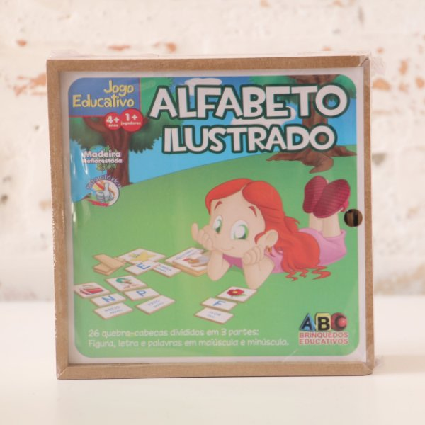 Alfabeto Ilustrado com 78 peças
