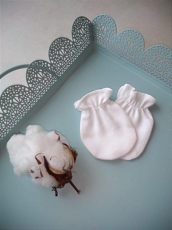 Luvinha em algodão orgânico - Branca