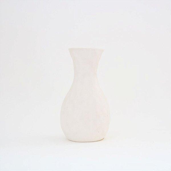 Mini vaso em cerâmica - branco