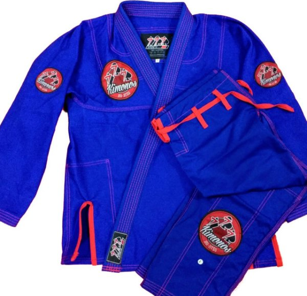 kimono Azul 777 - Patches
