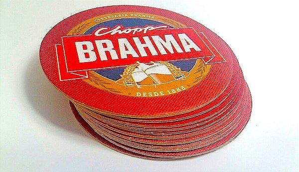 Nova Bolacha de Chopp BRAHMA Cx 500 Peças