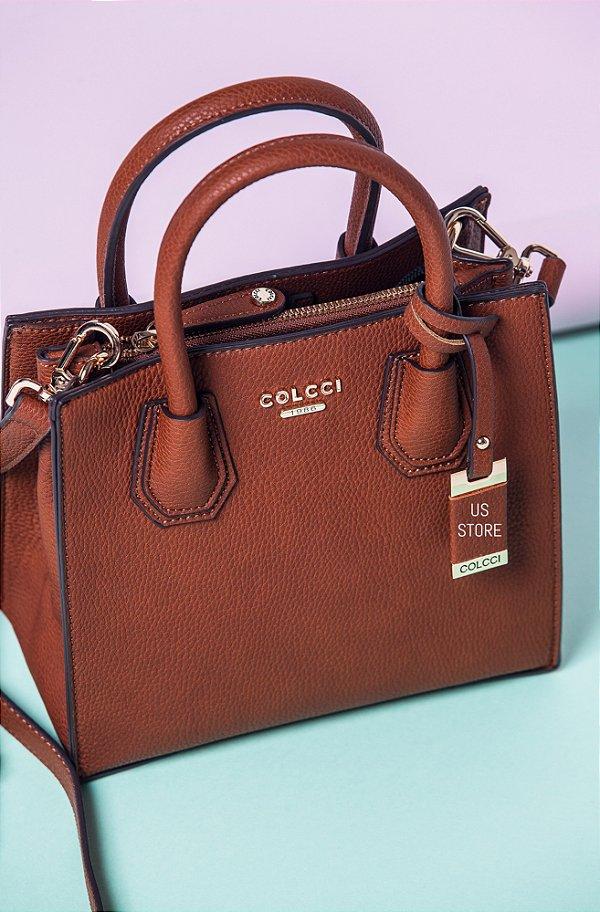 594882cc6 Bolsa Mini Tote Colcci Marrom na US Store - Us Store