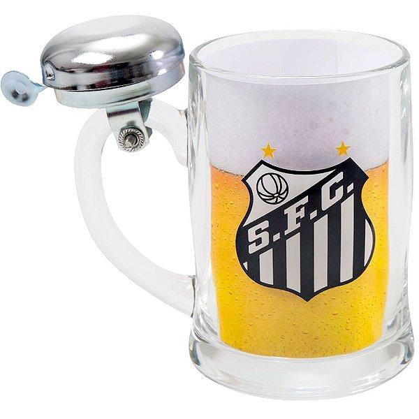 Caneca de Cerveja Com Sirene - Santos