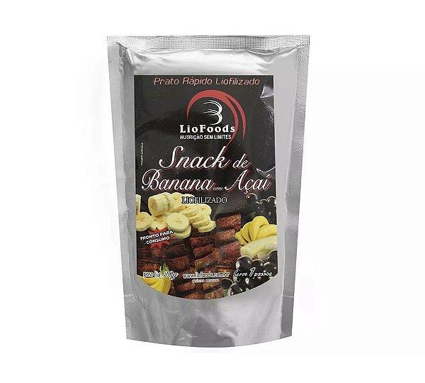 Comida Liofilizada Snack de Açaí com Banana Liofoods