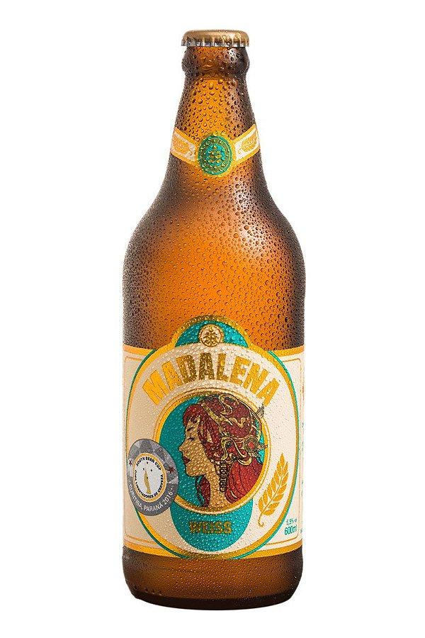 Populares Cerveja Madalena Weiss - 600ml - Cervejaria Premium Paulista NP42