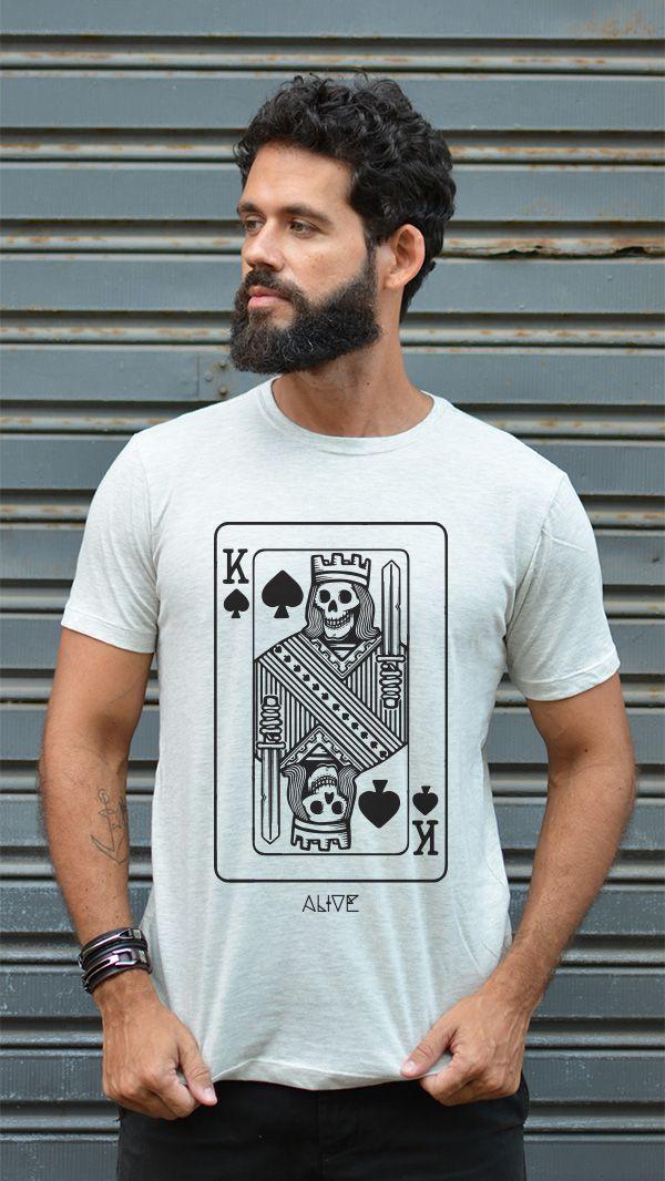 Camiseta Skull of Spades