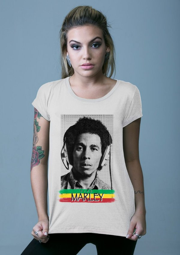 Blusa King Marley