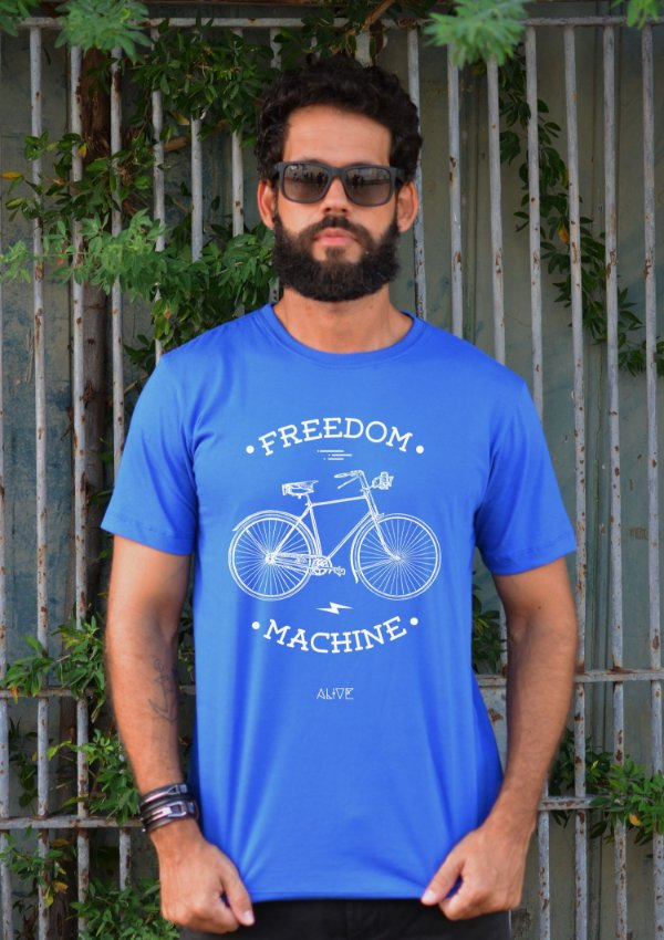 Camiseta Freedom Machine