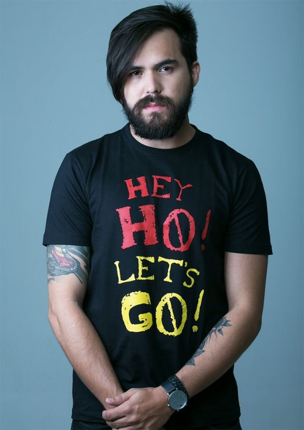 Camiseta Hey Ho Let's Go