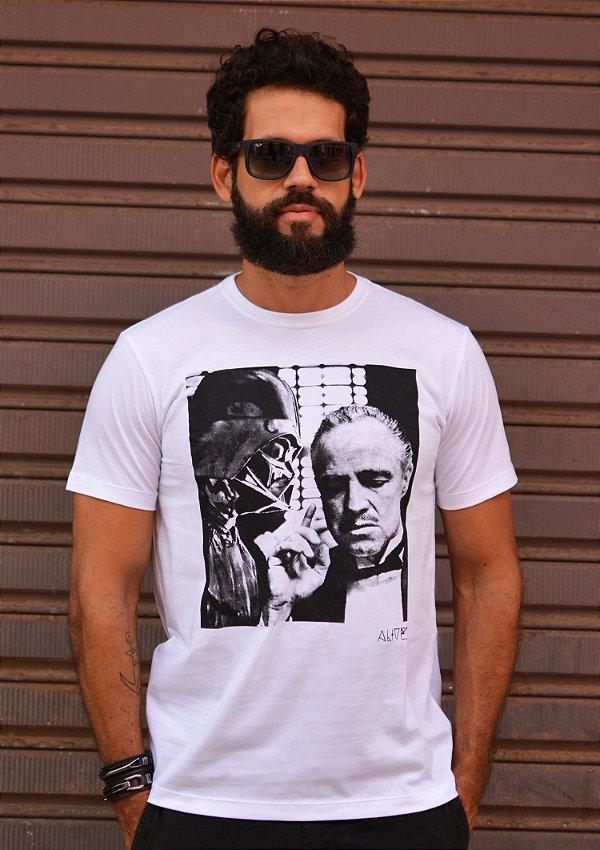 Camiseta Darth Vader x Don Corleone