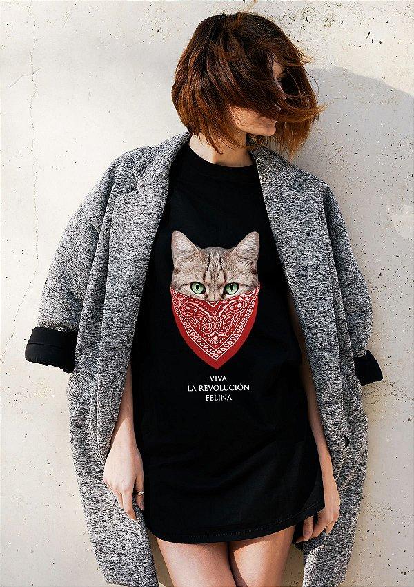 Camiseta Revolução Felina