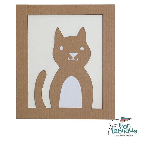 Bolota, o Gato - Quadro Decorativo