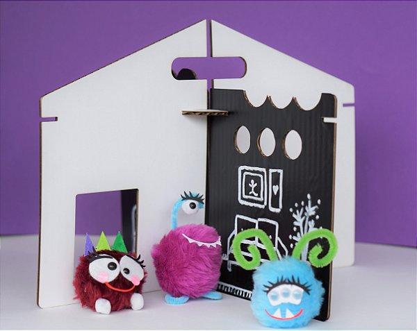 a Casa Monstro e seus Monstrinhos