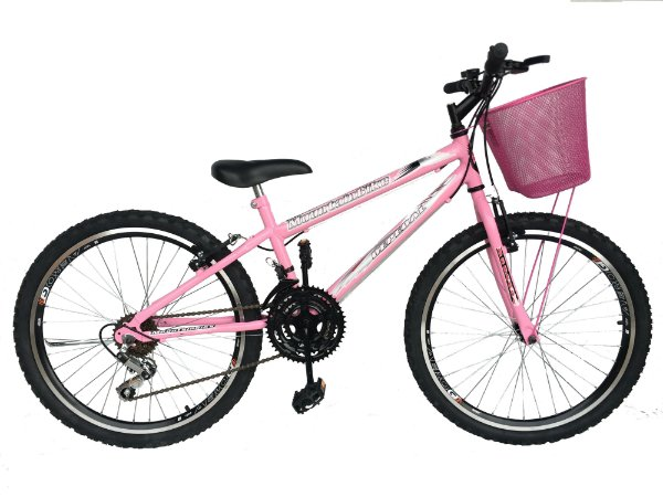 Depedal Mountain Bike 24 Feminina - AERO ROSA