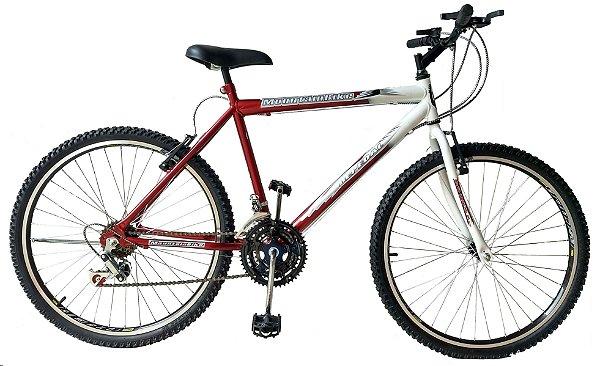 Depedal Mountain Bike 26 - VERMELHA AERO