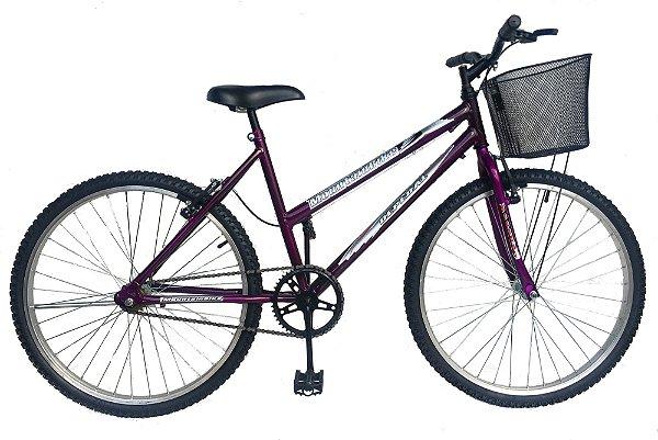 Depedal Mountain Bike 26 Feminina  - VIOLETA S/MARCHAS