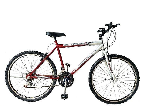 Depedal Mountain Bike 26 Masculina - VERMELHA AERO