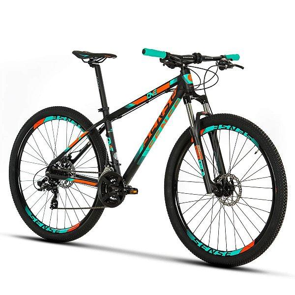 Bicicleta SENSE ONE 2019 KIT 21V - LARANJA/AZUL