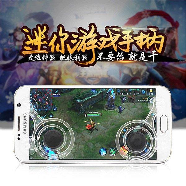 Joystickit Botão Duplo Direcional Para Jogos de Celular e Tablet