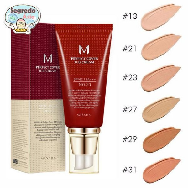Base BB Cream Missha M Perfect Cover 50ml
