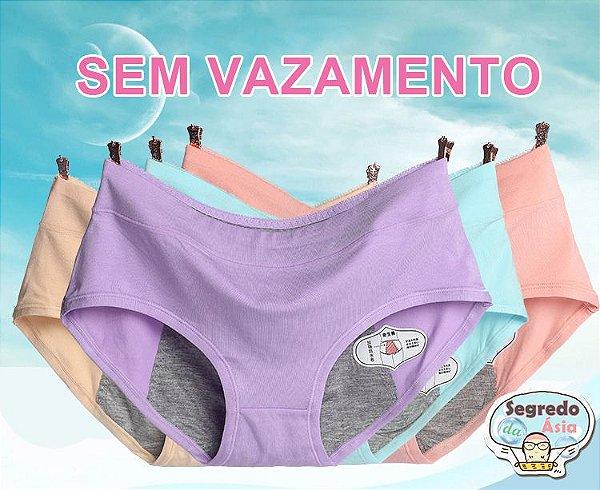 Calcinha Para Menstruação Anti Vazamento Shapewear