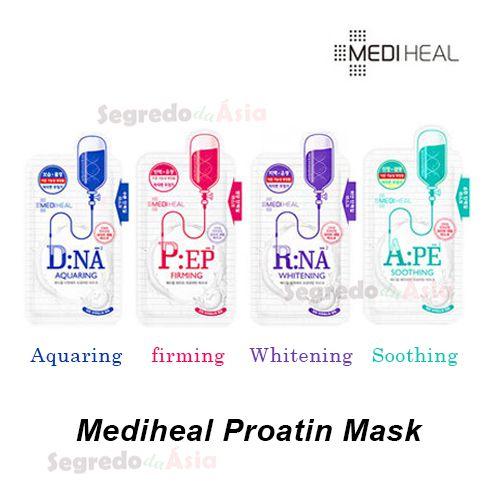 Máscara Facial Coreana Mediheal Proatin 25ml