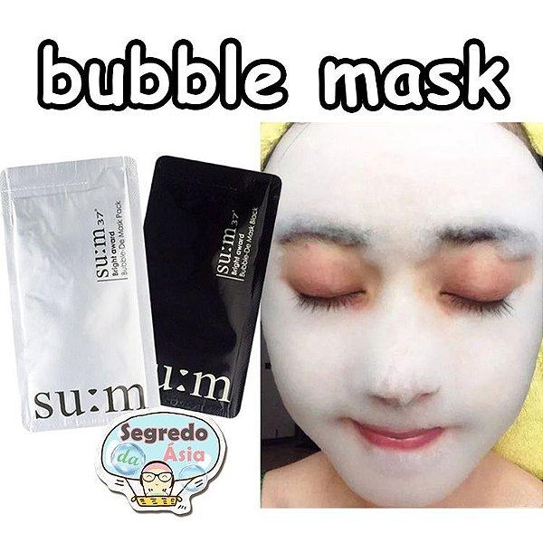 Máscara Facial Coreana Gaseificada SU:M37º Bright Award Bubble-De Mask 4,5ml