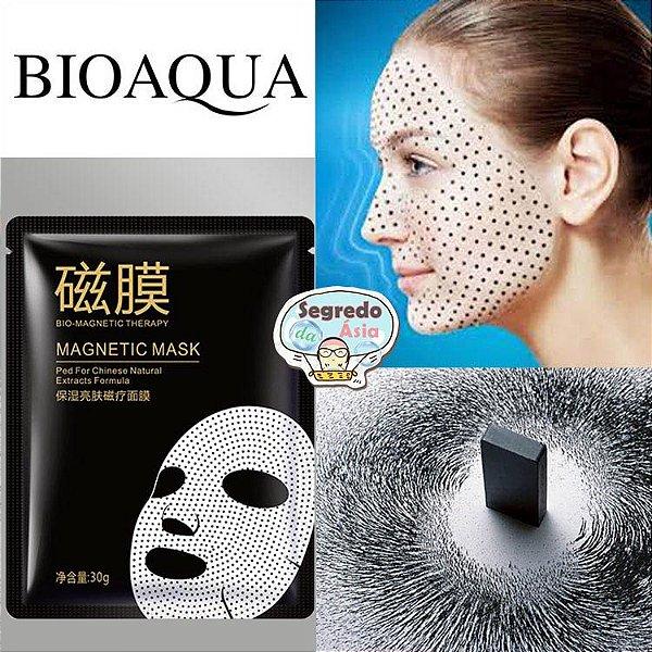 Máscara Facial Importada Bioaqua Imã Magnética Terapia Nutrição Rejuvenescimento Anti Idade 30g