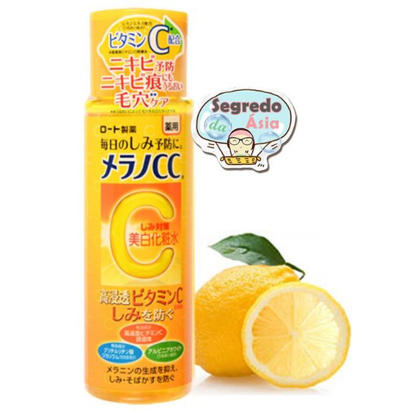 Loção Clareador Japonesa Rohto Melano CC Anti-Spot Whitening Lotion 170ml