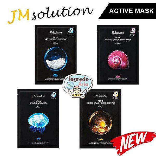 Máscara Facial Coreana Jmsolution Active Prime Mask