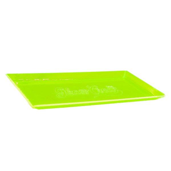Bandeja de acrílico Glass Crew - Verde limão